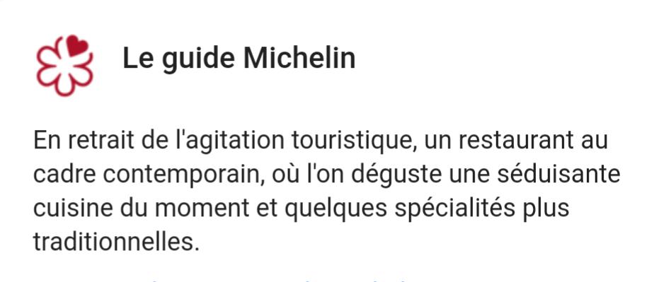 Avis complet sur le guide Michelin